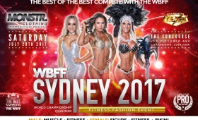 WBFF SYDNEY17 Fitness & Fashion Weekend