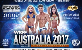 WBFF AUSTRALIA17 Fitness & Fashion Weekend